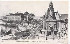 France Postcard - Trouville-Sur-Mer - L'Hotel De Ville Et Le Casino    XX882