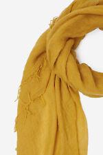 NEW 2020 Chan Luu Cashmere & Silk Scarf Wrap Shawl ARROWWOOD Sunflower Yellow