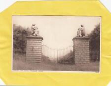 TRAQUAIR  HOUSE   GATES     -   PEEBLES    ,   Borders     ( V15 )