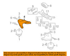 FORD OEM 11-16 Mustang Engine Motor Transmission-Support Bracket Right BR3Z6028A