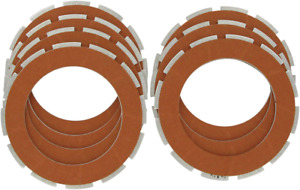 Drag Specialties Organic Friction Plate Kit for 54-70 Harley Sportster Flathead