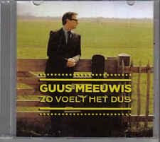 Guus Meeuwis-Zo Voelt Het Dus Promo cd single