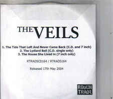 The Veils-The Tide That Left And Never Came Back Promo cd single