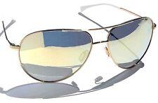 NEW* NIKE Vintage 82 AVIATOR Gold White Flash Gold mirror Sunglass EVO634 710