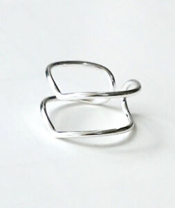 925 Sterling Silver Thin Chevron Ring - Size 6, 7, 8, 9 Gift Boxed