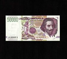 Italy, 50,000 Lire 1992, P-116a, UNC * Last Issue *