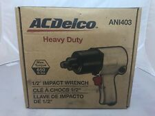 ACDelco ANI403 1/2 inch Air Impact Wrench 650 ft lbs Twin Hammer Max Torque Duty