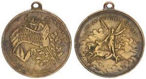 Hungría 1848-1898 Medalla Istenert Kirolyert VF XF 55816