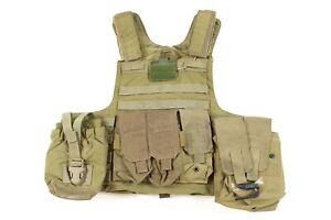 Eagle Industries MED Khaki Tan MARCIRAS Plate Carrier Vest & Pouches MAR-CIRAS