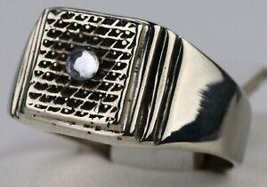 Ring STERLING Silver 925 Sygnet UNISEX Mans Woman GIFT Jewelry UKRAINE Ukrainian