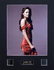 Angelina Jolie Ver3 Signed Photo Film Cell Presentation