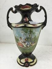 Art Nouveau Antico Vaso Inglese In Ceramica antique vase