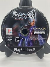 Devil May Cry Demo CD PS2 Disc Only Tested Sony PlayStation 2 Ps2 JFJ Resurfaced