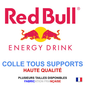 Stickers autocollant RED BULL logo plusieurs tailles, super prix