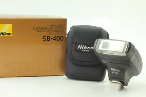 【 Mint in Box 】 Nikon Speedlight SB-400 Shoe Mount Flash for Nikon from Japan