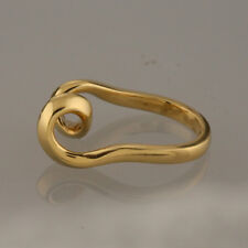 Links Of London Twisted Ring 18ct Yellow Gold Size I 1/2