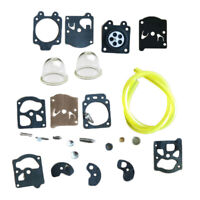 Carburetor Rebuild Kit Replacement For Poulan 1800 2000 2300 FS85 FS86 FS88