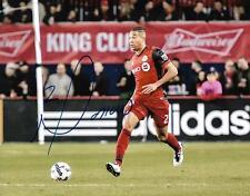 Justin Morrow Toronto FC MLS Soccer Football signed 8x10 photo w/COA
