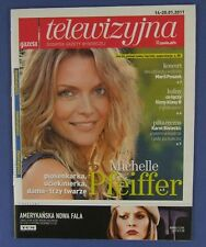 MICHELLE PFEIFFER  great mag.FRONT cover Poland  2011  Faye Dunaway.Maria Peszek