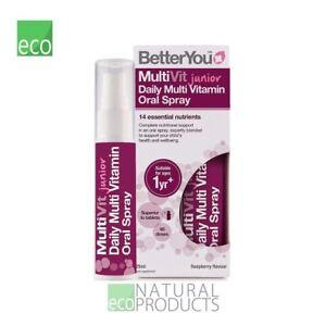 BetterYou Multi-Vit Junior Daily Oral Spray 25ml