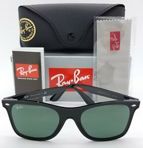 NEW Rayban sunglasses RB4440NF 601/71 Black Green 4440 AUTHENTIC Blaze Wayfarer