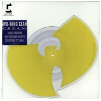 "Wu-Tang Clan ‎C.R.E.A.M. SHAPED LOGO 7"" 45 Vinyl Album NEW Limited Record CREAM"
