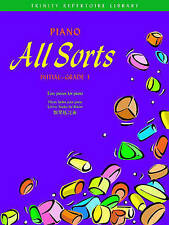 Piano All Sorts: Initial - Grade 1 (Trinity Repertoire Library), Very Good Condi
