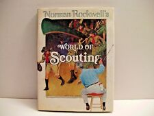 BOOK  Norman Rockwell's World Of Scouting By William Hillcourt (HC 1977) FREE SH