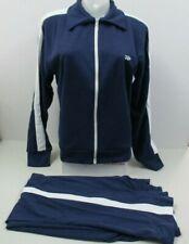 """New"" Jox Track Suit by Thom McCan Vintage 70's Dark Blue & White Stripe Medium"