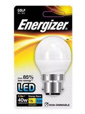 Energizer LED Golf BC/B22 Standard Bayonet Daylight 40w / 5.9w Energy Bulb