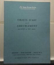 Catalogue Vente1979 Drouot Rive Gauche Salle N°8 Objets D'art Mtre Ader Picard .