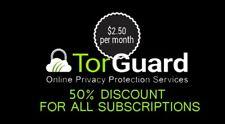 Torguard 50 % off Coupon / promo code / discount