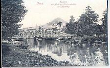 H 351 Jena proteggere ponte con casa montagna ungelaufen