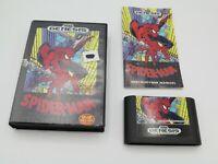 Spider-Man (Sega Genesis, 1991)  Complete in Box - CIB