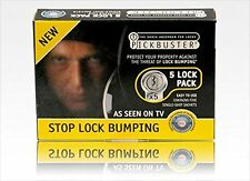 Pickbuster Anti  Key Bumping and Lock Bumping for Existing Door Locks
