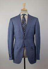 New CANALI EXCLUSIVE 1934 Blue Super 150s Wool 2 Button Suit 50/40L Drop 7 $2695