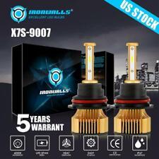 2x 9007 HB5 LED Headlight Bulb High Lo Beam 6000K Super Bright 375000LM 2500W