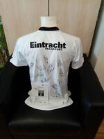 Eintracht Frankfurt Trikot 2009/2010, Teamsigniert, Mit Widmung, Fußball, Gr. L