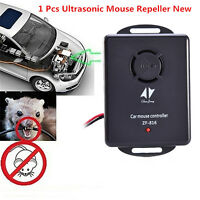 Car Truck Engine Ultrasonic Pest Mouse Rat Rodent Control Repeller Deterrent 12V