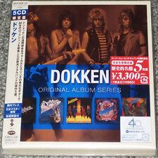 DOKKEN - Original Album Series - JAPAN EDITION 5 CD BOX SET - VERY RARE