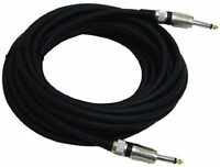 Pyle PPJJ30 1/4-Inch to 1/4-Inch Professional 12-Gauge Speaker Cable (30 Feet)