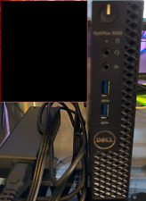 Dell OptiPlex 3050 Micro Tiny Computer i3-6100T 3.2G 4GB DDR4 60GB SSD Win10P