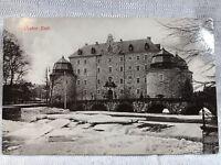 SWEDEN - Orebro - Slott - Photo Postcard Winter