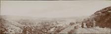 Espagne, Buñol, Panorama de la plaine et sentier de randonnée, 1908, Vintage cit