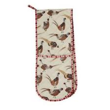 Pheasant Design Double Oven Glove from Ulster Weavers