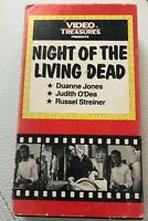 Night of The Living Dead VHS Video Treasures Romero Zombie Classic