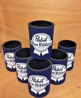 Pabst Blue Ribbon PBR 12 Oz Beer Koozie ~ Six (6) Quality Neoprene ~ New & F/S