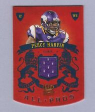 2010 Panini Crown Royale Percy Harvin game-used jersey card 008/299 - Vikings