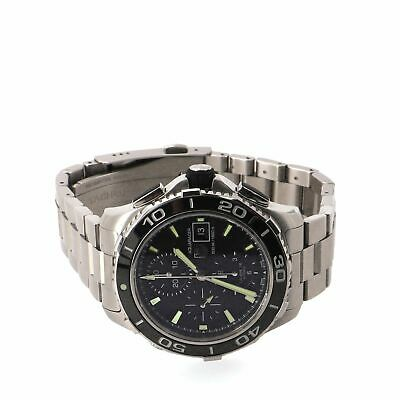 Tag Heuer Aquaracer 500M Calibre 16 Chronograph Automatic Watch Stainless Steel