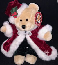 STARBUCKS 2004 CHRISTMAS Costume 36th BEARista BEAR Collection TEDDY BEAR Plush